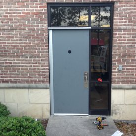 Commercial Steel Entry Doors, Houston