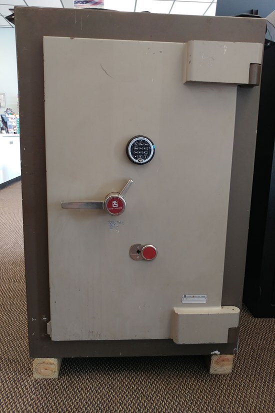 Torch and Tool Resistant Safe
